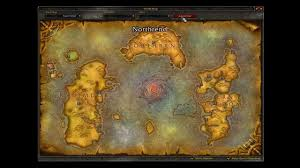 kalimdor map how to fly from outland to kalimdor