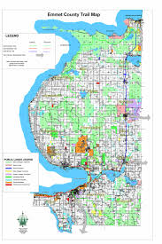 Michigan Zip Code Map by Springvale Township