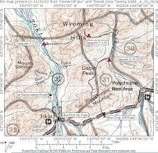 denali national park map denali national park zone 31 32 n2backpacking com