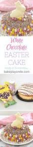 easy white chocolate easter cake 15 minutes recipe white