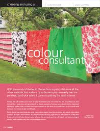 choosing a colour consultant habitat magazine published by