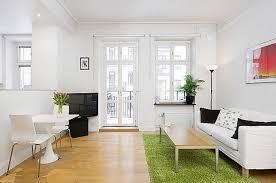Bright White Studio Apartment Interior Design Pinterest - Interior design studio apartments