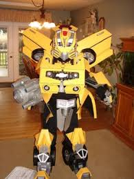 Bumblebee Halloween Costumes Awesome Homemade Transforming Bumblebee Transformer Halloween