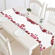 valentines day table runner sted table runner scarf 15 x42 s day