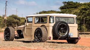 land cruiser vintage this custom toyota fj40 land cruiser rod redefines awesome