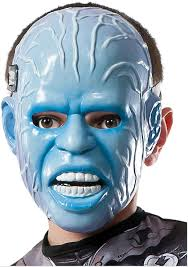 rubies halloween 5 mask rubie u0027s costume men u0027s the amazing spider man 2 electro 3 4