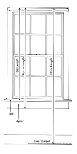 Window Sill Curtains Window Choosing The Right Curtain Lengths For Your Home