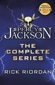 percy jackson and the olympians boxed set by rick riordan