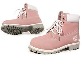 womens timberland boots for sale find timberland s 6 inch premium boot pink white at