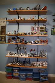 Hanging Shelves From Ceiling by Lego Display Shelf Lego Star Wars Forum From Bricks To Bothans