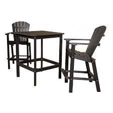 High Patio Dining Sets Outdoor High Dining Sets Patio Furniture Set Balcony Height Top