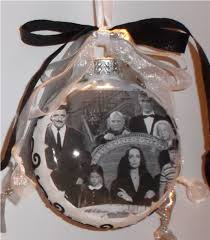 addams family inspired tribute christmas ornament 1