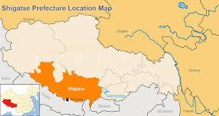 Qingdao China Map by Shigatse Map Map Of Shigatse Tibet Shigatse Prefecture
