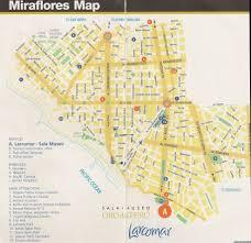 lima map lima peru about places
