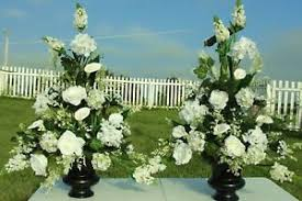 church flower arrangements silk flower arrangements church pew wedding altar vase banquets