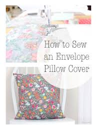 how to fold an envelope how to sew a pillow cover for a 16 by 16 inch pillow form u2013 the