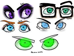 danny phantom danny phantom detailed eyes of main supporting characters anyone