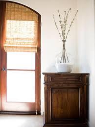 ideas nice bamboo roman shades for window covering idea