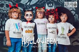 halloween t shirt mock up product mockups creative market