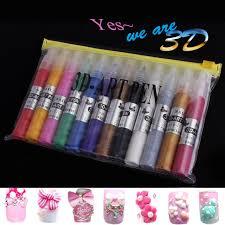 aliexpress com buy perfectsummer 12 colors set nail art diy 3d