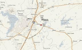 waco map waco location guide