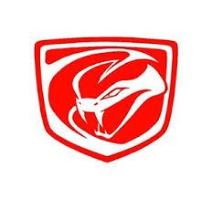 dodge viper logo dodge viper stryker logo vinyl decal car truck window sticker