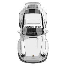 rwb porsche logo artstation rwb 911 993 motor prints