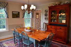 dutch colonial home tour in maryland debbiedoos we eat dinner in the dining room most nights i light candles and put fresh flowers on the table this doesn t mean we re eating gourmet food however