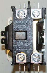 42 25101 01 rheem ruud air conditioner heat pump contactor single pole