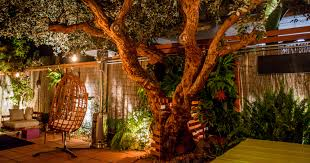 guava tree table and living wall benoit design