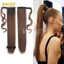 clip in ponytail women clip in ponytails fashion hair 22 55cm
