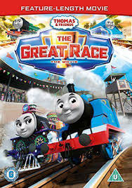 thomas u0026 friends the great race movie dvd genuine r2 tank ebay