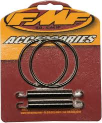 fmf exhaust pipe springs and o ring kit kawasaki kx 80 kx80 1991
