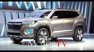 subaru viziv truck 2016 la auto show live new subaru viziv 7 suv concept reveal