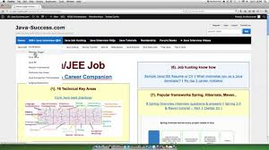 Sample Resume For Java J2ee Developer Java And Jee Architecture Interview Questions And Answers Youtube