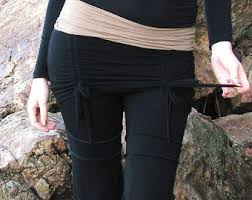 Yoga Pants With Skirt Attached Ruched Yoga Skirt To Create Skirted Yoga Pants Layering On