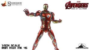 toys avengers age of ultron iron man mk xlv 45 video review