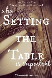 setting the table book setting the table day 40 a virtuous woman