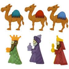 imagenes de los reyes magos y sus animales botones reyes magos