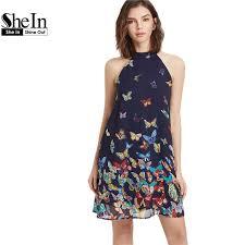 2017 wholesale shein summer dress 2017 womens clothing boho dress
