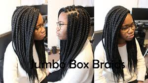 how many bags for big box braids jumbo large box braids tutorial how to youtube