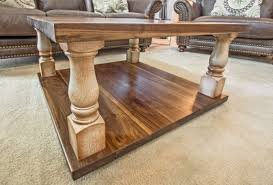 turned leg coffee table coffee tables end tables ks woodcraft with turned leg coffee