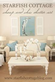 blue and white coastal cottage living room before and after