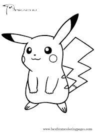 amazing pikachu coloring pages best coloring b 3697 unknown