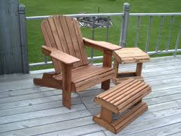 Adirondack Chair With Ottoman Magnificent Adirondack Chair With Ottoman On Home Decor Ideas With