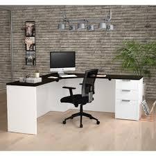 Office Desk With Locking Drawers Locking Desks You Ll Wayfair