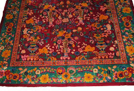 Nichols Chinese Rugs 7705 Nichols Chinese Art Deco Style Rug C 1910 From