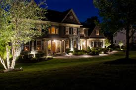 House Landscape Lighting Residential Outdoor Lighting Designers By Burkholder