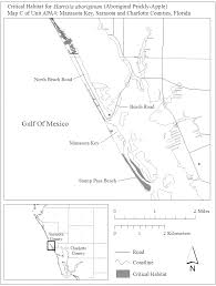 Map Of Lee County Florida by Federal Register Endangered And Threatened Wildlife And Plants