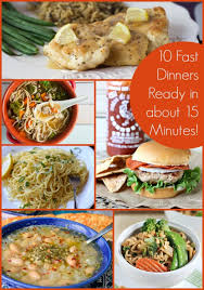 Weekend Dinner Ideas 10 Fast Dinner Recipes Ready In About 15 Minutes The Weary Chef